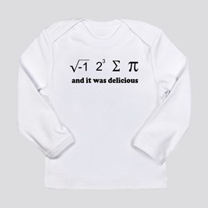 i eight sum pi Long Sleeve Infant T-Shirt