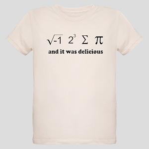 i eight sum pi Organic Kids T-Shirt