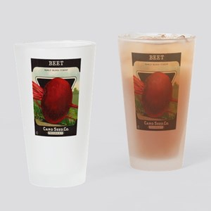 Beet Drinking Glass