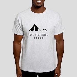 Five star hotel camping Light T-Shirt