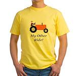 My Other Ride Orange Yellow T-Shirt