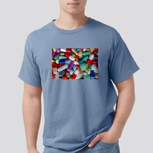 pills drugs Mens Comfort Colors Shirt