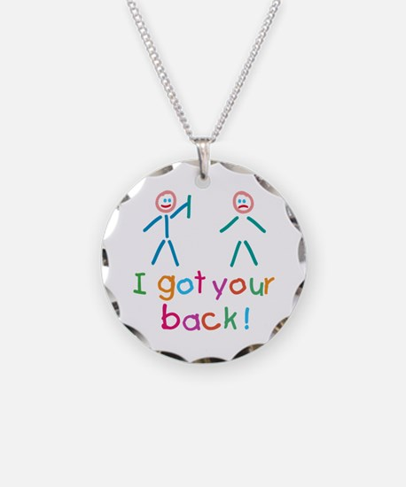 I Got Your Back Fun Necklace