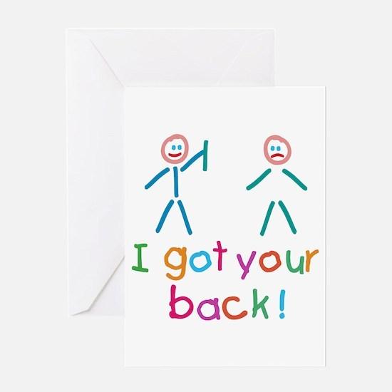 I Got Your Back Fun Greeting Card
