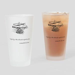 vinci_helico_cita_2000 Drinking Glass