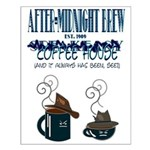 After Midnight Brew Speakeasy Small Poster