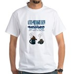 After Midnight Brew Speakeasy White T-Shirt