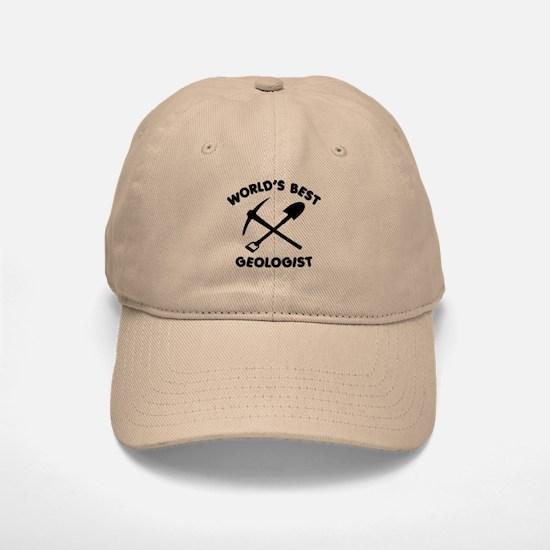 World's Best Geologist Baseball Baseball Cap