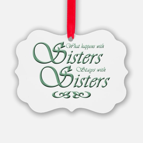 Sisters Ornament