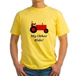 My Other Ride Red Yellow T-Shirt