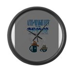 After Midnight Brew Speakeasy Large Wall Clock