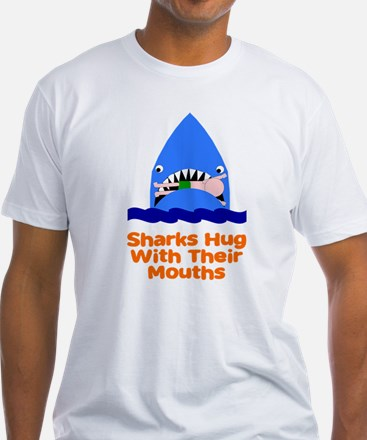Sharks hug with their mouths Shirt