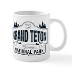 Grand Teton Blue Sign Mug