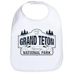 Grand Teton Blue Sign Bib