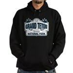 Grand Teton Blue Sign Hoodie (dark)
