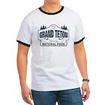Grand Teton Blue Sign Ringer T