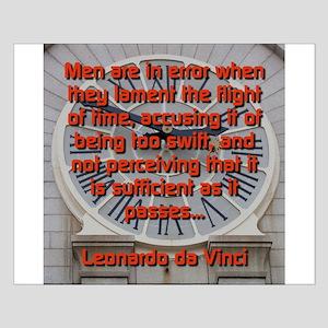 Men Are In Error - Leonardo da Vinci Small Poster