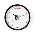 """""""Time to KenKen"""" Wall Clock"""