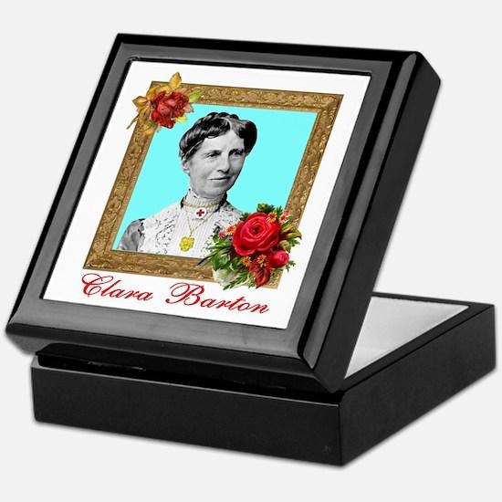 Clara Barton - Nurse Keepsake Box
