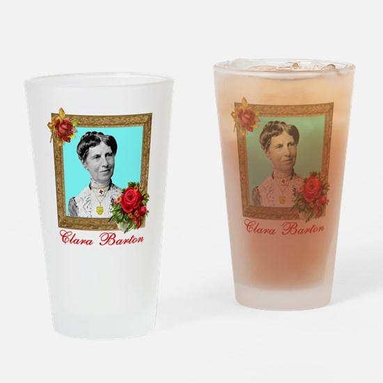 Clara Barton - Nurse Drinking Glass