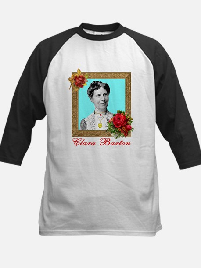 Clara Barton - Nurse Kids Baseball Jersey