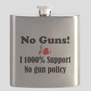 No Guns Flask