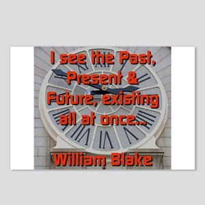 I See The Past - William Blake Postcards (Package
