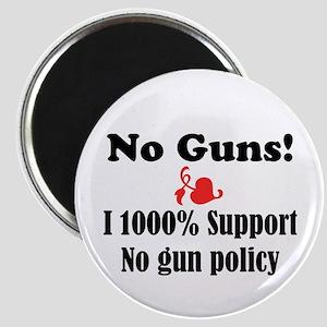 No Guns Magnet
