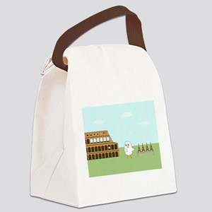 Vendor in Rome Canvas Lunch Bag