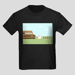 Vendor in Rome Kids Dark T-Shirt