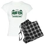 Grand Teton Green Sign Women's Light Pajamas