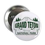 "Grand Teton Green Sign 2.25"" Button (100 pack"