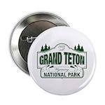 "Grand Teton Green Sign 2.25"" Button (10 pack)"