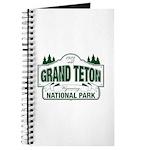 Grand Teton Green Sign Journal