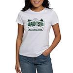 Grand Teton Green Sign Women's T-Shirt