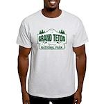 Grand Teton Green Sign Light T-Shirt