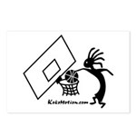 Kokopelli Basketball Player Postcards (Package of