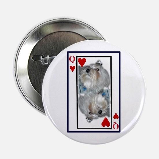 Queen of my heart Button