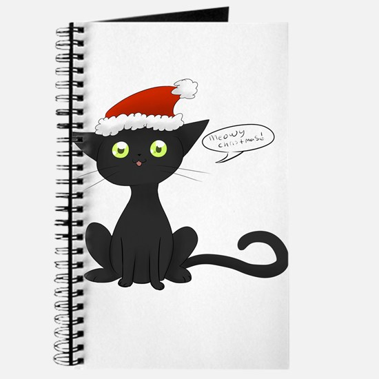 Meowy Christmas! Journal