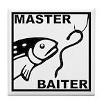 Master Baiter Tile Coaster