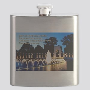 They Sent For Men To Battle - Aeschylus Flask