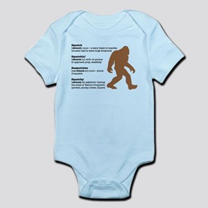 Definition of Bigfoot Infant Bodysuit