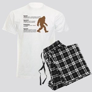 Definition of Bigfoot Men's Light Pajamas