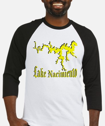 LAKE NACIMIENTO [4 yellow] Baseball Jersey