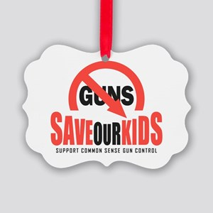 Save Our Kids Picture Ornament