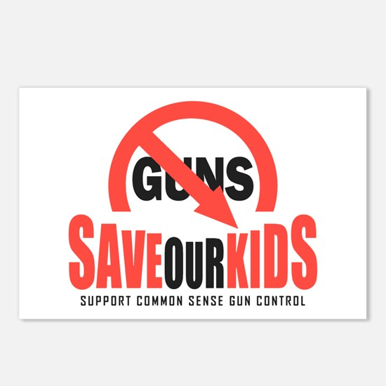 Save Our Kids Postcards (Package of 8)