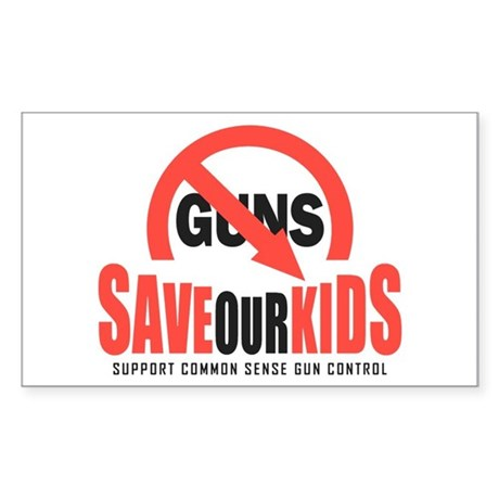 Save Our Kids Sticker (Rectangle)