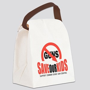 Save Our Kids Canvas Lunch Bag