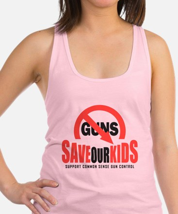 Save Our Kids Racerback Tank Top