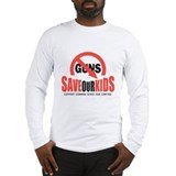 Gun control Long Sleeve T-shirts